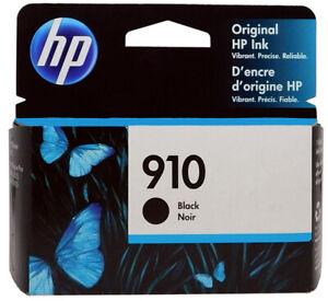 HP 910/3YL61AN Black Ink Cartridge New Genuine