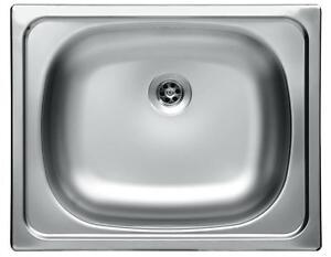 Edelstahl-Kuechenspuele-Einbauspuele-Kuechen-Spuele-Spuelbecken-Waschbecken-40x50cm-Z6