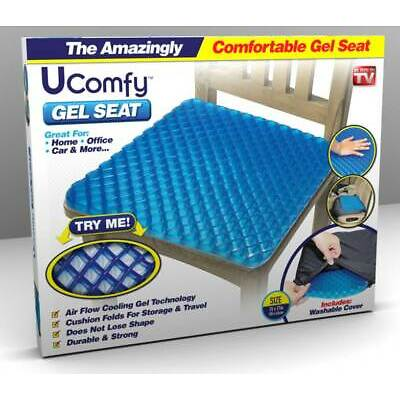 Ucomfy Gel+Egg Seat - Optimal Support Comfort Chair Cushion – As Seen on TV! NEW