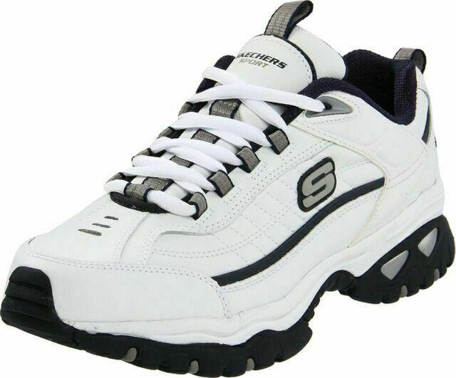 predicción litro Cincuenta  Skechers 50081 Energy Afterburn Men Lace-up Sneaker - White for sale online  | eBay