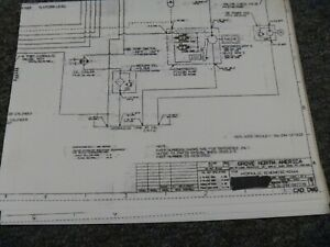 Grove MZ66A MZ76 Boom Lift Hydraulic Schematic Electrical Wiring Diagram |  eBayeBay