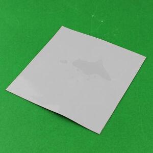 Grey GPU CPU Heatsink Cooling Thermal Conductive Silicone Pad 100mmx100mmx5mm EC