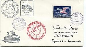 1974 Antarctic Tourist Expedition Ms Lindblad Travel Polar Antarctic Cover