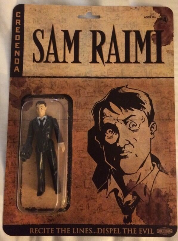 NYCC 2014 Sam Raimi Figure Crotenda Reaction Exclusive SIGNED ONLY 20 EXIST