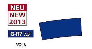 Piko Escala G R7 7.5 grados curva pista (12 piezas)   BN   35218