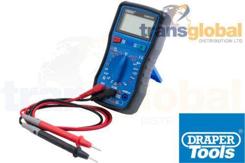 Digitale multimetro tensione elettrica corrente HEF /& resistenza Tester-Draper