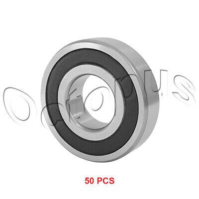 10 Pcs Premium 6004 2RS ABEC3 Rubber Sealed Deep Groove Ball Bearing 20x42x12mm