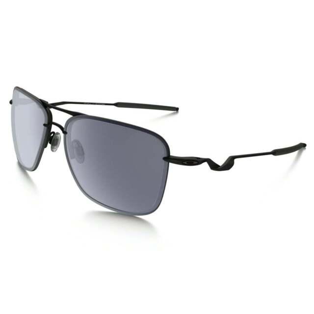 0aaec37d43 Oakley Tailhook Sunglasses OO4087-01 Satin Black w Grey Lens - BNIB - RRP