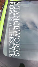 STANCE WORKS LARGE DECAL STICKER (ILLEST, DAPPER, DRIFT, SLAMMED 600X100MM