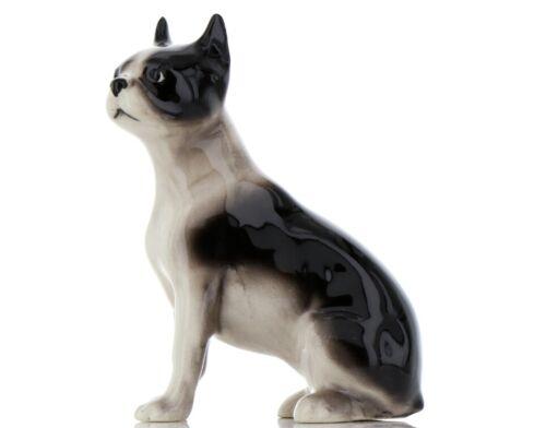 Hagen Renaker Pedigree Dog Boston Terrier Large Ceramic Figurine