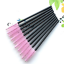 thumbnail 12 - 100Pcs-Disposable-Mini-Eyelash-Eye-Lash-Makeup-Brush-Mascara-Wands-Applicator