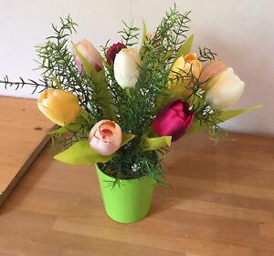 Tischgesteck Tischdekoration Blumengesteck Hochzeit Taufe Tulpen Ebay