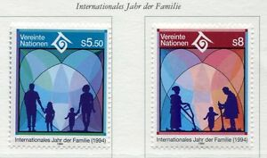 19398-UNITED-NATIONS-Vienna-1994-MNH-Family-day