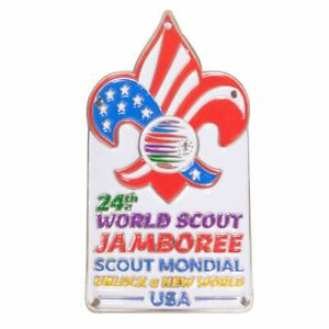 24th-World-Scout-Jamboree-2019-Hiking-Staff-Medallion-USA-Contingent-IST-WSJ-BSA