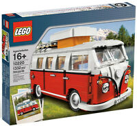 Lego Volkswagen T1 Camper Van Set 10220 Sealed Vw Creator Sealed In Box Bus