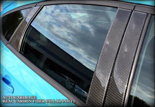 REAL CARBON FIBER PILLAR POSTS FOR BMW X5 07 08 09 10 11 12 13 14 15 16 17 18 BL