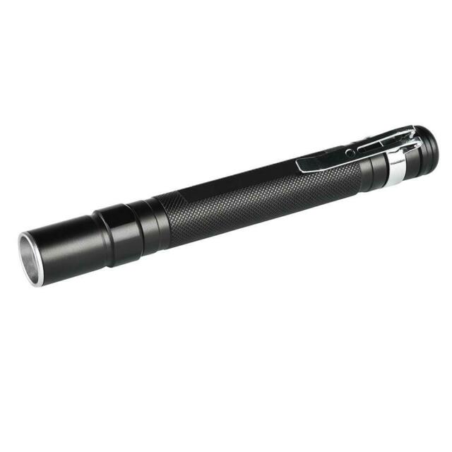 Mini Zoom LED Flashlight Torch CREE XPE Q5 Flash Pen Light Camping Lamp A#S