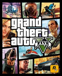 NEW-amp-SEALED-Grand-Theft-Auto-5-GTA-5-GTA-V-PS3-Australian-Retail-Edition