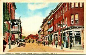 Middletown-New-York-James-Street-View-Orange-County-1915-Postcard