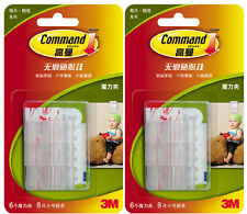 12x 3M Command Damage-Free Picture/Photo Adhesive Clip Hanger FREE SHIPPING