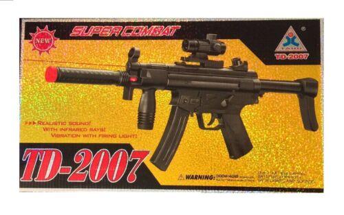 TD 2007 fusil jouet Supercombat vibration avec tir Lumière