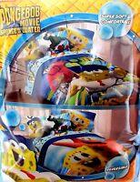 Spongebob Squarepants Twin Comforter From Movie Sponge Out Of Water Reversible