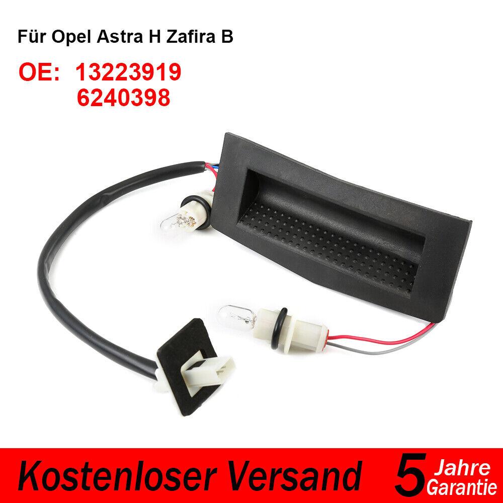 Schalter Heckklappe Heckklappenschalter Für OPEL ASTRA H CARAVAN+ZAFIRA 13223919