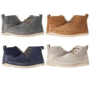 new ugg men's neumel unlined leather chukka boots casual