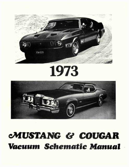 Oem Wiring Schematics Boundd Mustang  Mercury Cougar Vacuum