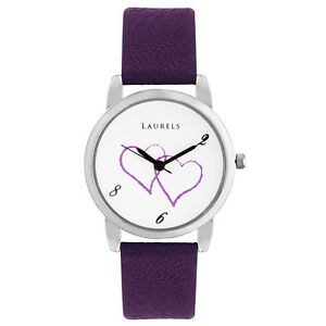 Laurels February Analog White Dial Women's Watch - Lo-Feb-102