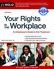 Your Rights in the Workplace by Barbara Kate Repa (2014, Paperback)