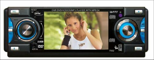 3,6 pulgadas Elta 7552 DVD-tuner con 9,1 cm TFT Display Negro