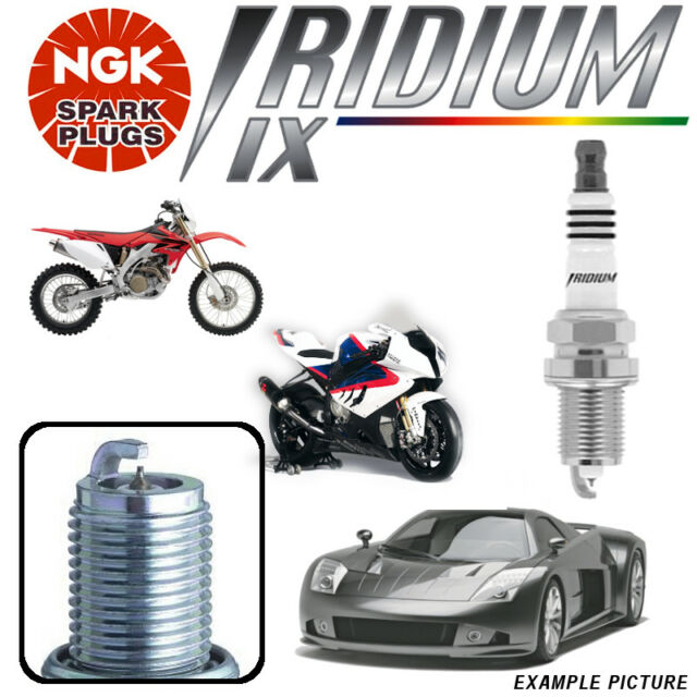 3x NGK IRIDIUM IX UPGRADE Spark Plugs SUZUKI SWIFT 1.0 All models >03 No.6637