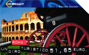 *G 1045 C&C 3209 SCHEDA TELEFONICA USATA CAPITALI DELL' EURO ROMA FiO9UwxE-09121402-155003443