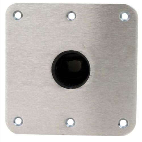 Swivl-Eze SP69773 Snap-Lock Deck Base Stainless Steel 7X7