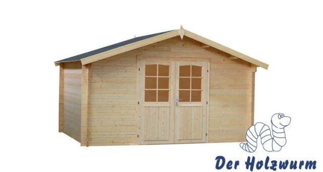 34 mm Gartenhaus Bremen Gerätehaus Schuppen Holz Holzhaus Gartenhäuser Blockhaus