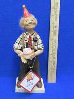 Old Fart Henry Birthday Dude Man Figurine Gift Resin Grandpa Over The Hill