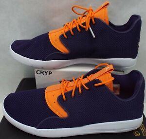 0165eea801e6 New Mens 10.5 NIKE Jordan Eclipse Ink Bright Mandarin Run Shoes  110 ...