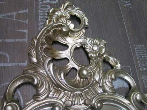 Barockspiegel Wandspiegel Oval Antik Repro Spiegel Altsilber 50X76 Wanddeko ***