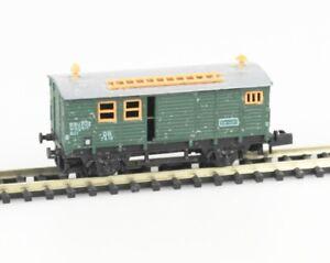 ARNOLD-Spur-N-4640-Bauzugwagen-fertig-gebaut-Bausatz-DB-Epoche-III-lesen
