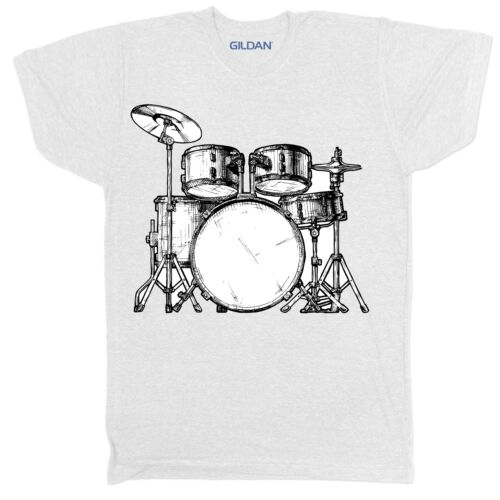 DRUMS DRUMMER MUSIC FESTIVAL MOVIE FILM RETRO BAND TOP OF THE POPS T SHIRT