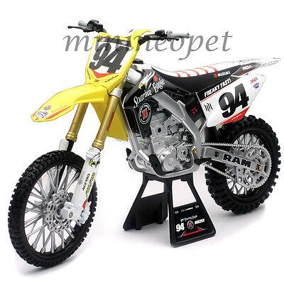 NEW RAY 49523 SUZUKI RM-Z 450 #94 DIRT BIKE MOTORCYCLE 1/6 KEN ROCZEN