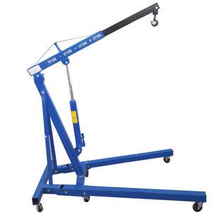 1-Ton-Tonne-Folding-Crane-Hydraulic-Engine-Hoist-Lift-Lifting-Mobile-Garage-Jack