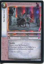 Lord Of The Rings Foil CCG Card RotK 7.R56 The Dead City
