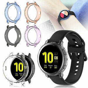 TPU-Frame-Cover-Case-Screen-Protector-For-Samsung-Galaxy-Watch-Active-2-40-44-mm