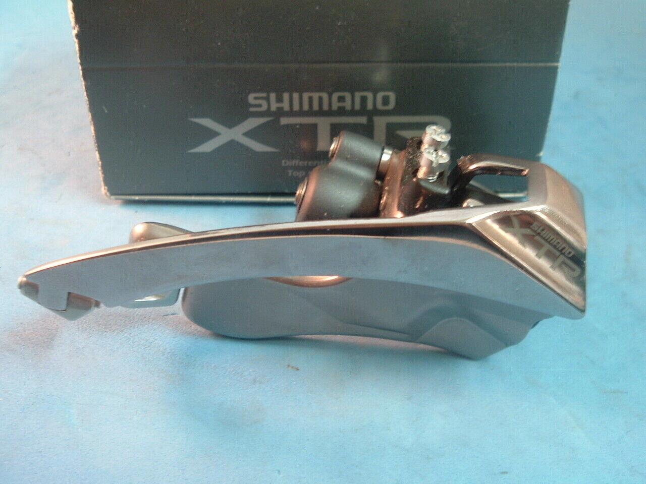 Shimano XTR M950 NEW NOS MTB Front Derailleur Vintage-31.8MM-TP TS-7 8-Spd NIB