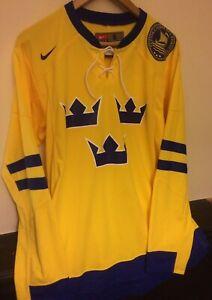 seleccione para auténtico suave y ligero incomparable Nike Sweden Ice Hockey Jersey S Home Shirt Top | eBay