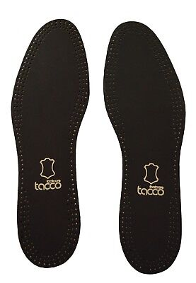 Tacco Leather Insole Black