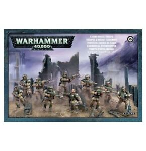 10-Cadian-Shock-Troops-Infantry-Squad-Imperial-Guard-AM-IG-Warhammer-40k-Astra