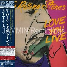 THE ROLLING STONES - LOVE YOU LIVE - JAPAN MINI LP SACD SHM - CD - UIGY-9070